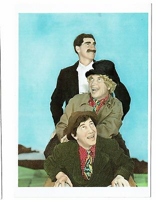 The MARX BROTHERS - NEW Color photo post cards. Groucho, Harpo, Chico. Vintage