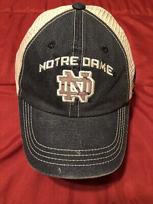 new arrival 5080a f986c Notre Dame Fighting Irish Top of the World Youth Roughage Realtree Trucker  Hat
