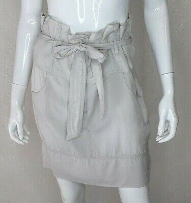 KOOKAI Womens Size 40 Or 12 Off White 100% Tencil Casual To Cocktail Skirt