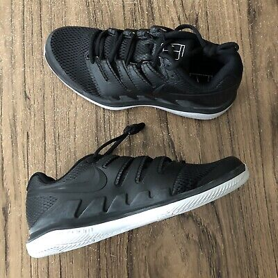 e5478a6f3590 A1256G Nike Air Zoom Vapor X HC Tennis Black AA8030-010 Men s Size 9 NEW