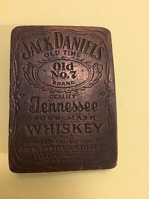 Vintage Jack Daniels Old No. 7  Belt Buckle