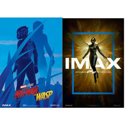 """Ant-Man And The Wasp 13"""" x 19"""" IMAX Mini Poster Regal Exclusive Brand New Both 2"""