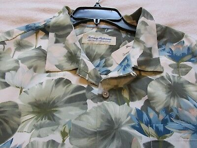 "NWT Men/'s TOMMY BAHAMA 100/% Silk HERITAGE /""Garden of Hope/"" Shirt 2XB 3XB 3XLT"
