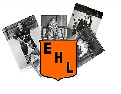 Eastern Hockey League Player  Reprint Photos (Pick Your Player) Each  Is : $5.00