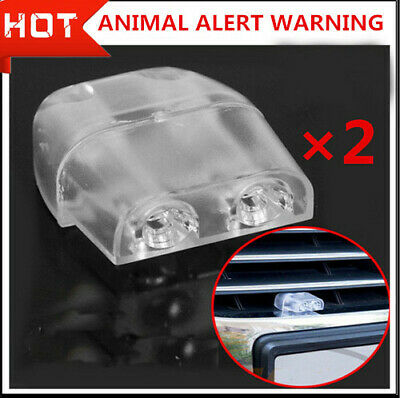 2x Deer Whistles Wildlife Warning Devices Animal Alert Car Safety Accessories E