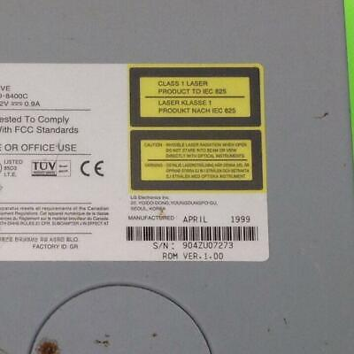 LG CD ROM CRD-8400B DRIVERS FOR WINDOWS 8