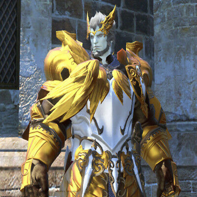FINAL FANTASY XIV FFXIV FF14 Dyes Ten Pots of Metallic Gold Dye