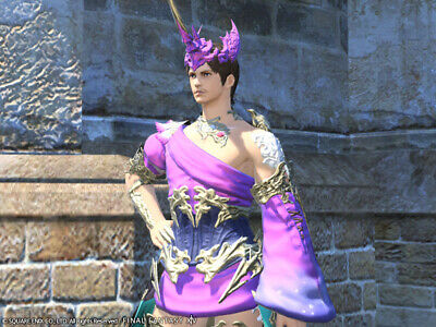 FINAL FANTASY XIV FFXIV FF14 Dyes Ten Pots of Metallic Purple Dye