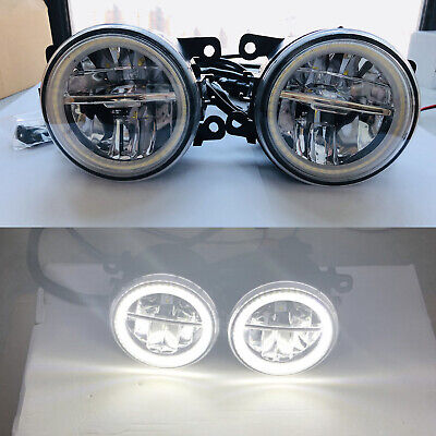 2x LED Halo Fog Lights For Ford Fiesta Mk6/7 Focus inc st Transit mk6/7 Ranger