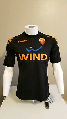 newest 6a662 4e61c AS ROMA KAPPA Soccer Jersey Shirt Trikot Maillot Camiseta Champions League