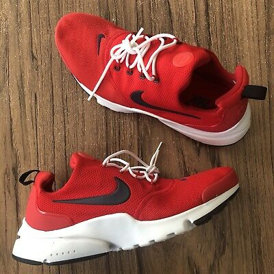 44b9dfa89 A922 Nike Air Presto Fly SE Sample Red / Navy 908019-605 Mens Size 9