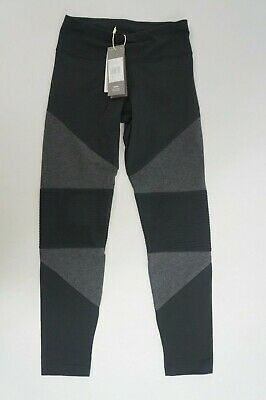 Adidas Performance Tights Mädchen Leggings Leggins schwarz grau Gr. 152  #2164