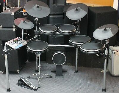Alesis DM10 MK1 Pro 6-Piece Mesh Electronic Drum Kit with 4 Cymbals