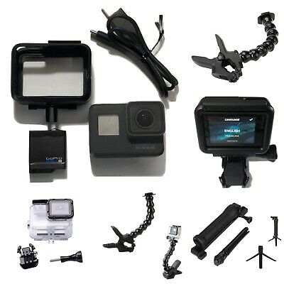 GoPro Hero5 Black CHDHX-501 + SuperSuit + 3-Way Arm/Grip/Tripod + Jaws Clamp