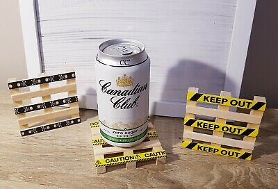 Mini Pallet Coasters - Novelty & Unique desk / man cave / kitchen gift