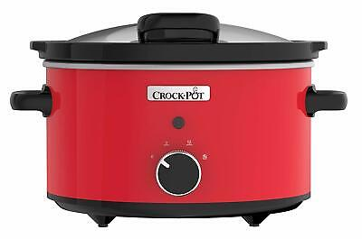 Crock-Pot Slow Cooker Hinged Lid Easy Removable Stoneware Keep Warm Function New