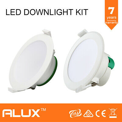 12W Non-Dimmable Led Downlight Samsung Led 90Mm Cutout Warm / Cool White Ip44