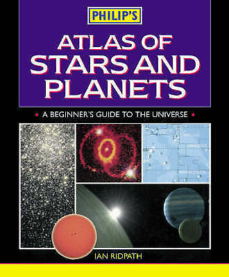 Philip's Atlas of Stars and Planets, Ridpath, Ian, Very Good Book
