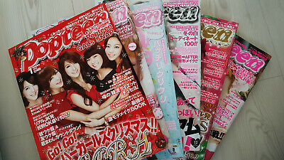 POPTEEN MAGAZINES, from Japan (£6.50 each) 2010 to 2013 (see photos and descript