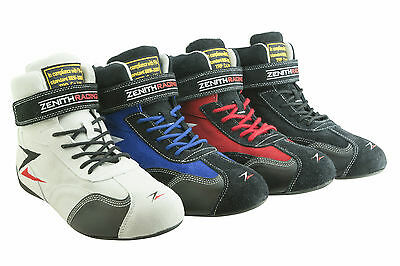 Zenith Racing LM-1 FIA Suede Racing Boots