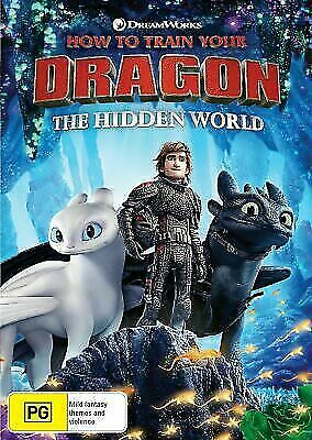 How to Train Your Dragon 3 The Hidden World BRAND NEW Region 4 DVD IN STOCK NOW