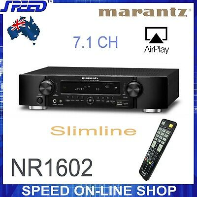 Marantz NR1602 7.1-channel Network Receiver with AirPlay - (Ex-Display Units)