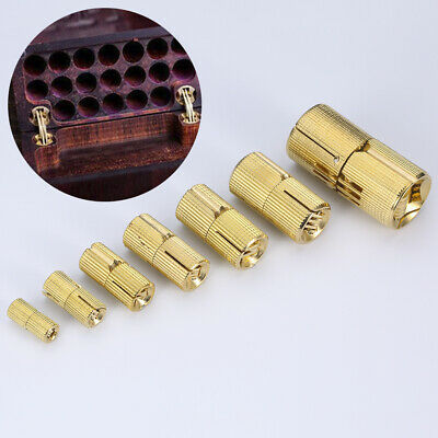 Copper Hinges Cylindrical Invisible Cabinet Concealed Furniture Hardware Mystic