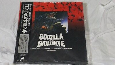 GODZILLA VS BIOLLANTE Laserdisc LD BOX  Limited Edition Japanese