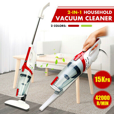 Handheld / Upright Stick Vacuum Cleaner 600W 15000PA HEPA Household Vac Bagless