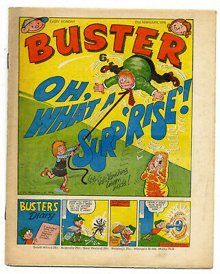 Buster 21st Feb 1976 (very high) Faceache, Clever Dick, Leopard from Lime Street