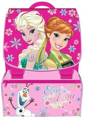 Zaino scuola bambina estensibile Disney Frozen Square backpack Elsa and Anna