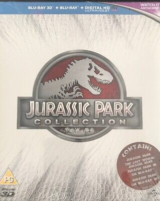 Jurassic Park: Trilogy Collection Blu-ray (2015) NEW AND SEALED