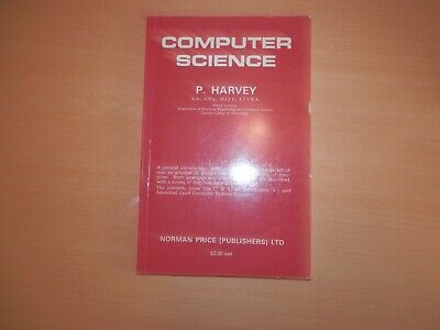 Computer Science P Harvey Norman Price Publishers 1971 Vintage Book
