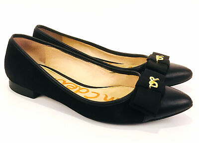 f150611d1 SAM EDELMAN HAYDEN Women US 4 Black Heels -  95.00