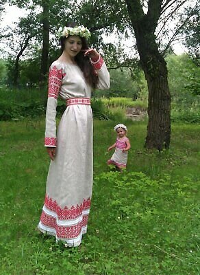 Woman medieval dress Makosh