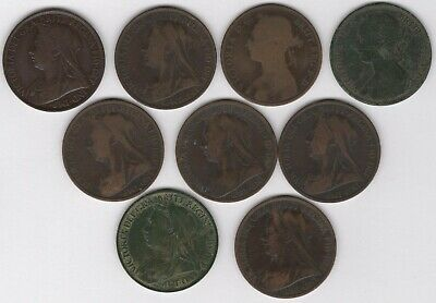 1893-1901 Victoria One Penny Coins | Bulk Coins | British Coins | Pennies2Pounds