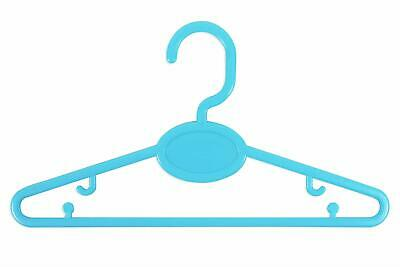 First Steps Baby Clothes Hangers Blue- Pack Of 24