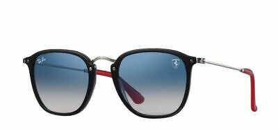 4fe432e19c911 Ray-Ban RB2448NM Scuderia Ferrari Collection Sunglasses (Black Silver
