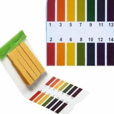 3 set 240 Strips Professional 1-14 pH litmus paper ph test strips water cosme 1H