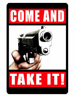 OWNER IS ARMED NO TRESPASS SIGN DURABLE ALUMINUM NO RUST FULL COLOR Sign NT #500