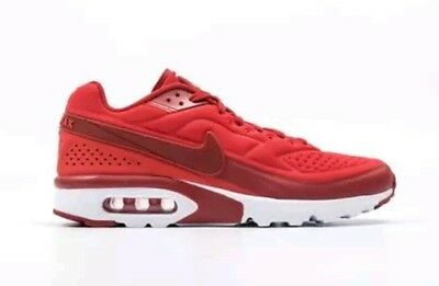 NIKE AIR MAX BW ULTRA SE MENS COMFORT RUNNING SHOES TEAM RED