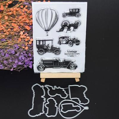 Vehicle Transparent Silicone Stamp Clear DIY Scrapbooking Craft Stamps