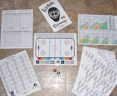 Ice Nutz Pro Hockey Dice Board Game & NHL WHA Historic Teams Sets 1, 2, 3 & 4
