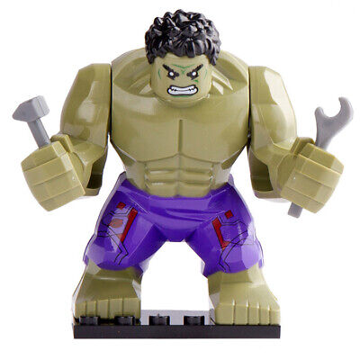 Large Hulk - Avengers End Game Figure For Custom Lego Minifigures [Big Size]