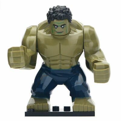 Hulk Minifigure Avengers End Game Figure For Custom Lego Minifigures [Large]
