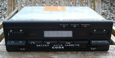 Becker AVUS BE 0778 Youngtimer Autoradio mit Kassette - BE0778 TOP