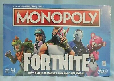 Monopoly Fortnite Edition Board Game New Sealed Hasbro 2018