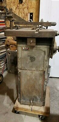 Atf Vintage Typesetters Circular Table Saw