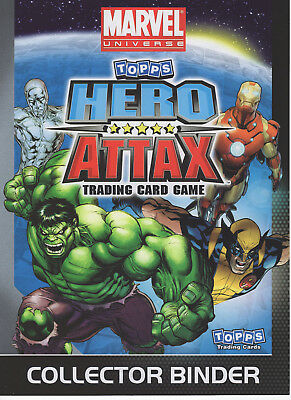 Topps Marvel Hero Attax 2010 Full 200 Card Set 1 Ltd & Thor & C.america Sets.