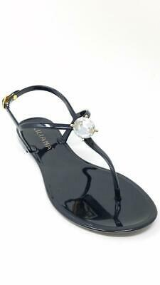 3209e9a795f Women s Rhinestone Accent T-Strap Thong Flat Jelly Sandals Jelli-26 Jubilee